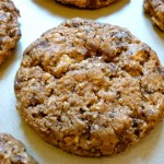 Chocolate, Peanut Butter and Oat Cookies