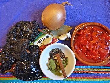 Mole Rojo (Red Oaxacan Sauce)