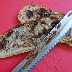 No-Knead Cherry Chocolate Pecan Bread