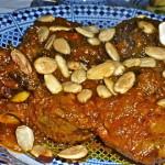 Lamb Mhammer (Wedding Dish From Fez)